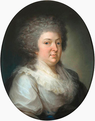 Frederika Charlotte Riedesel - Baroness Riedesel, ca 1795