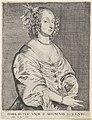 Portret van Maria Ruthven Maria Ruten uxor d. Antoni van Dyck eques (titel op object), RP-P-OB-68.009.jpg