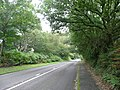 Portsmouth Road to the northeast in Liphook, Hampshire, England.jpg