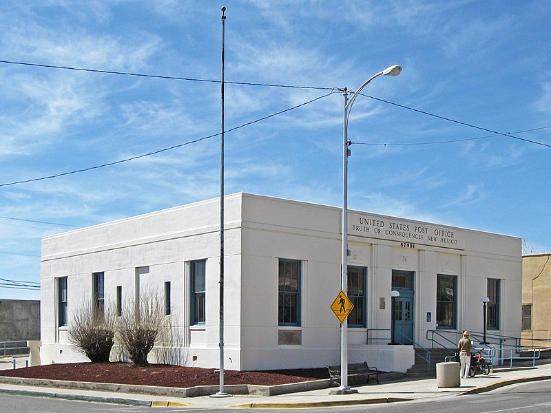 File:Post Office Truth or Consequences New Mexico.jpg