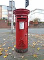 Post box at Maddock Road, Wallasey.jpg