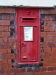 Post box on Elgin Drive cu.jpg