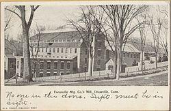 PostcardUncasvilleCTUncasvilleMfgCoMill1906