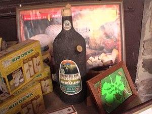 Orujo - A Bottle of Orujo (Cantabrian Brand Sierra del Oso).