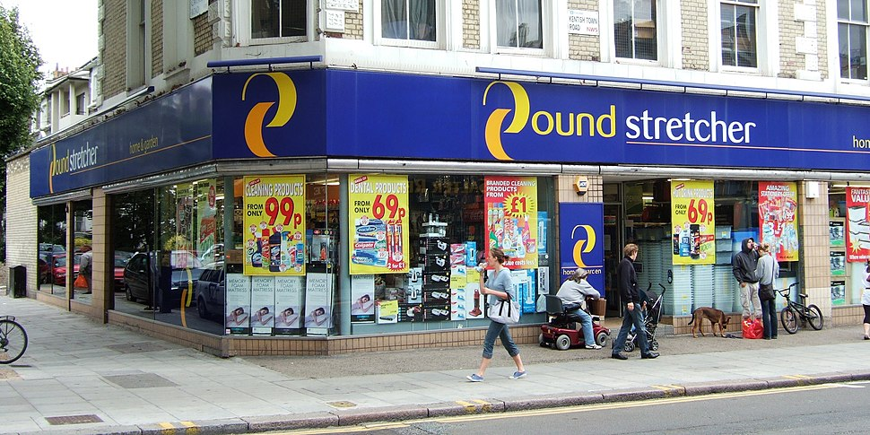 Poundstretcher, Kentish Town Road, in 2009