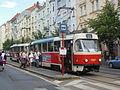 Praha, Vinohrady, Vinohradská, zastávka Jiřího z Poděbrad.jpg