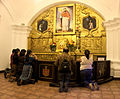 Prayers room in church La Merced in Antigua, Guatemala.jpg