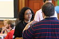 Preeti Mulay in discussion at Wikipedia in Higher Education Summit, 2011-07-09.jpg