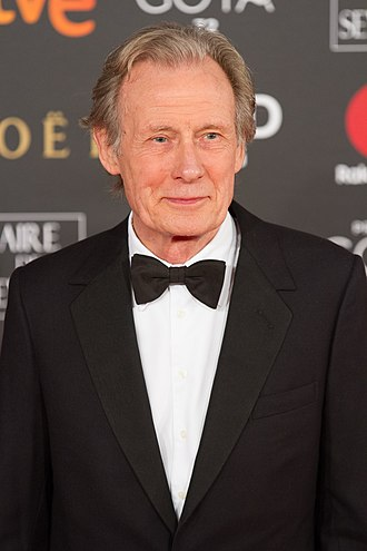 Bill Nighy - Nighy at the 32nd Goya Awards in February 2018
