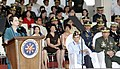 President Gloria Macapagal-Arroyo delivered her speech during the 73rd anniversary celebration of the Armed Forces of the Philippines.jpg