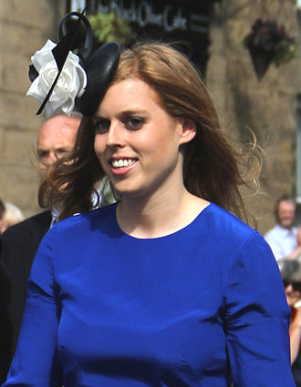 Fascinator - Image: Prince Beatrice with Dave Clark crop