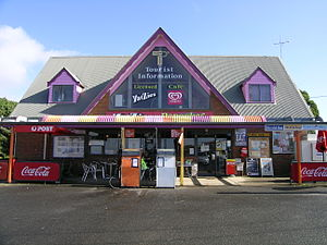 Princetown, Victoria - The general store and post office at Princetown.