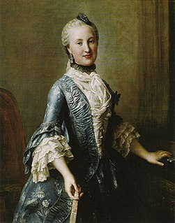 Maria Elisabeth of Saxony (1736–1818) Princess of Poland
