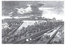 220px Prior Park and railway in 1750