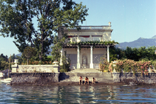 Private home backing up to Lake Geneva in Vaud Canton, 1968.png