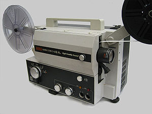 Eumig - A EUMIG Mark S810 Super 8 movie sound projector