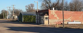 Prosser, Nebraska Virginia Ave E of 1st.JPG