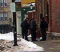 Protest against Scientology Buffalo NY March 15 2008-13 Detained.JPG