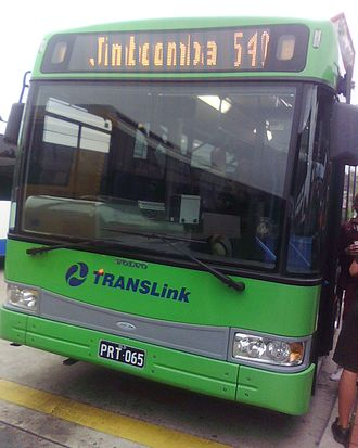 TransLink (South East Queensland) - TransLink liveried Park Ridge Transit Bustech bodied Volvo B12BLE in August 2008