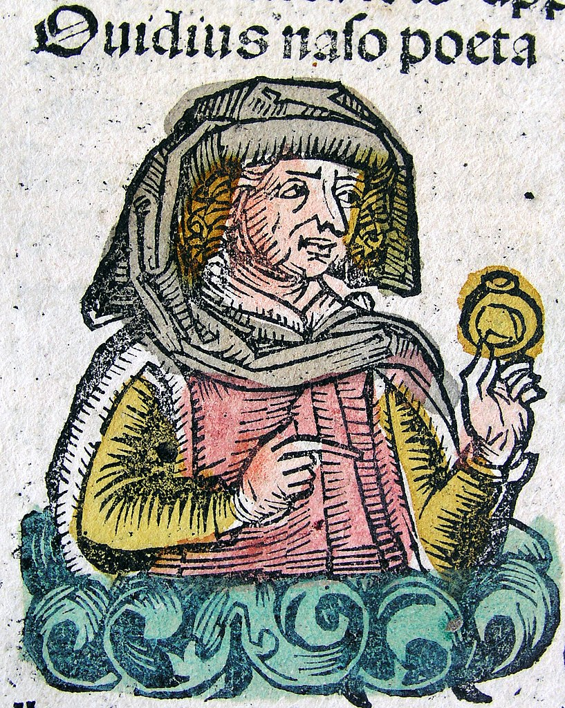 Publius Ovidius Naso dans les Chroniques de Nuremberg