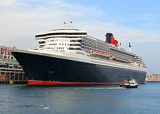 <i>Queen Mary 2</i> British 21st-century transatlantic ocean liner