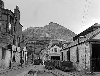 Trefor - Quarry at Trefor, 1956