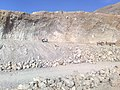 Quetta Lime Stone at Qadri Abad Eastern by pass - panoramio.jpg
