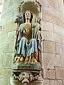 Quimperlé 05 Eglise Notre-Dame de l'Assomption statue Notre-dame de Bonne Nouvelle début XVIème siècle.JPG
