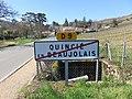 Quincié-en-Beaujolais - Panneau sortie (mars 2019).jpg