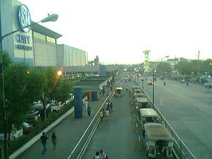 Quirino Highway - Quirino Highway overlooking the Neopolitan Business District near Lagro area, Quezon City