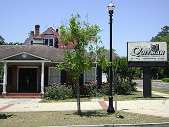Quitman, Georgia - Quitman City Hall