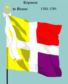 Image illustrative de l'article Régiment de Beauce (1762)
