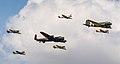 RAF BBMF Trenchard Plus formation (43524883192).jpg