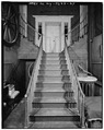 REAR STAIRS - La Bergerie, River Road, Barrytown, Dutchess County, NY HABS NY,14-BARTO.V,2-24.tif