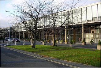RTÉ Television Centre - The Television Centre building on the RTÉ campus.