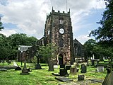 The current Radcliffe Parish Church