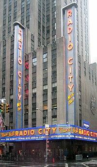 a57f69fe90c01 Radio City Music Hall em Nova Iorque