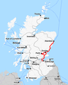 Rail map Scotland Edinburgh-Aberdeen line.png