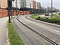 Rails Tramway IdF Ligne 6 Avenue Morane Saulnier - Vélizy-Villacoublay (FR78) - 2021-01-03 - 1.jpg