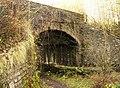 Railway bridge over the Nant Bargod Rhymney - geograph.org.uk - 625479.jpg