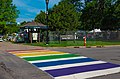 Rainbow Crosswalk at Twin Cities Pride, Minneapolis - Gay Pride (29209103278).jpg