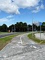 Raja cycle lane.JPG