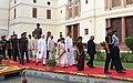 Ram Nath Kovind, the Vice President, Shri M. Venkaiah Naidu, the Speaker, Lok Sabha, Smt. Sumitra Mahajan and the Prime Minister (1).JPG