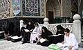 Ramadan 1439 AH, Qur'an reading at Goharshad Mosque, Mashhad - 29 May 2018 30.jpg