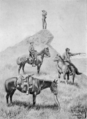 Range riders of the North West Mounted Police trailing cattle thieves (HS85-10-10881) trimmed.tif