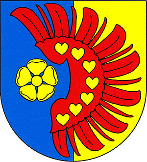 Ratiboř (Jindřichův Hradec District) - Image: Ratiboř (okres Jindřichův Hradec) znak