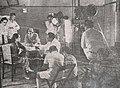 Ratna Asmara and Astaman on set of Kartinah, Terang Boelan Vol III No 5 (May 1941), p7.jpg