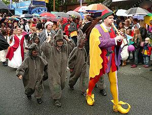 Day of Lower Saxony - The Pied Piper of Hamelin in 2009 in Hamelin