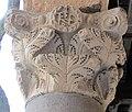 Ravenna, piazza del popolo, loggia nova, capitelli del tempo di teodorico 03 monogramma di teodorico.JPG