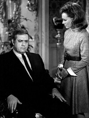 Raymond Burr - Burr and Victoria Shaw in Ironside (1969)